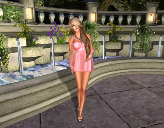 Pink Dress FF